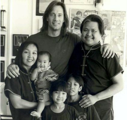 Kevin Sorbo with Douglas Wong and Family
