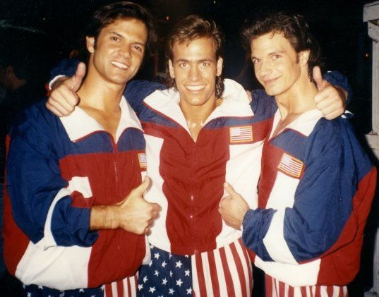 Phillip Troy Linger, Vince Murdocco and Michael Worth
