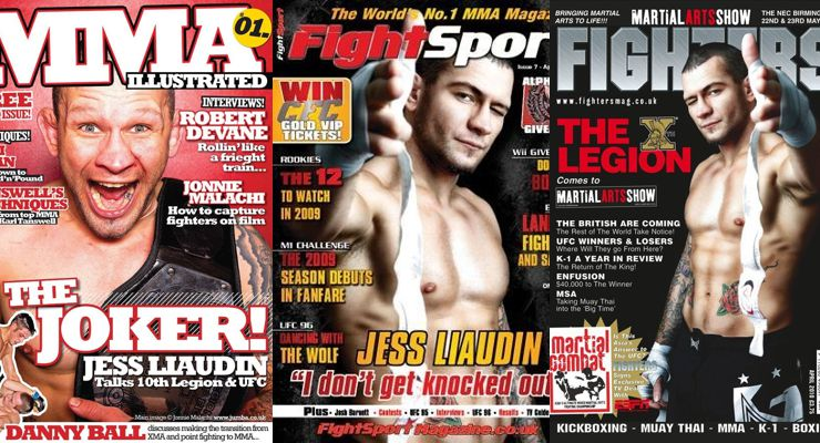 Jess Liaudin Magazine Covers