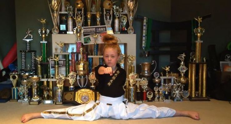 Jesse Jane McParland and Trophies