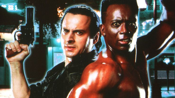 Jalal Merhi and Billy Blanks in Talons of the Eagle