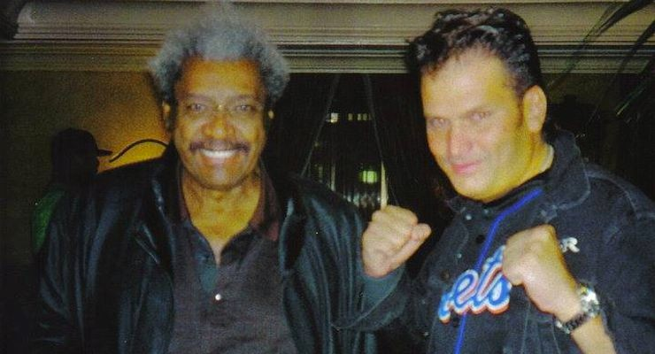 Tommy Bayiokos with Don King