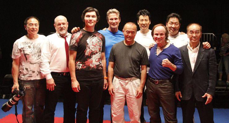 Martial artists on Underdog Kids