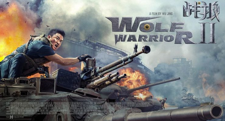 Jing Wu in Wolf Warrior