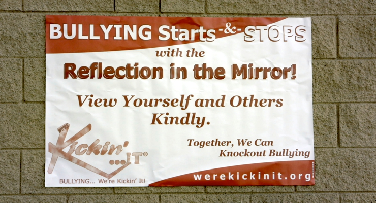 The Martial Arts Kid movie helping to stop bullying with Kickin' IT.