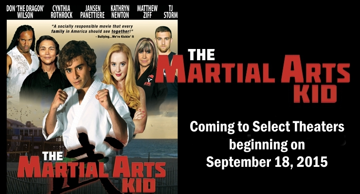 The Martial Arts Kid opening in select theaters.