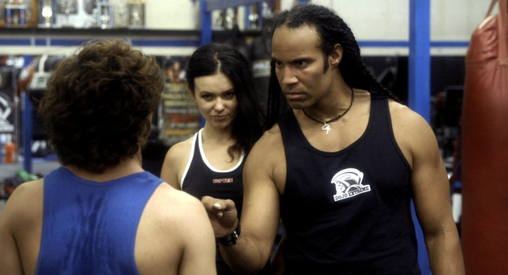Jansen Panettiere, Natasha Blasick, T.J. Storm The Martial Arts Kid.