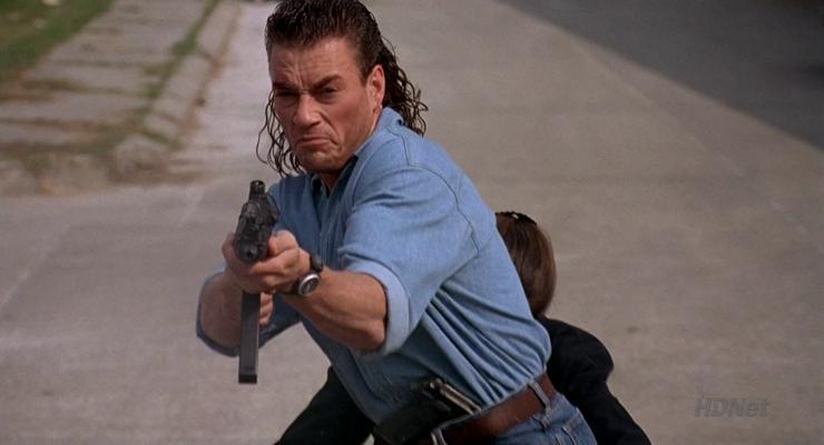 Jean-Claude Van Damme in Hard Target 1993