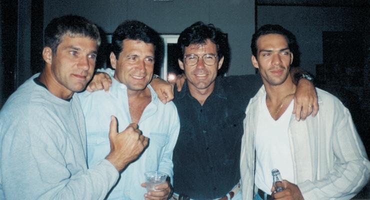 Gary Daniels, Keith Vitali, Keith W. Strandberg and Darren Shalavi from Bloodmoon.