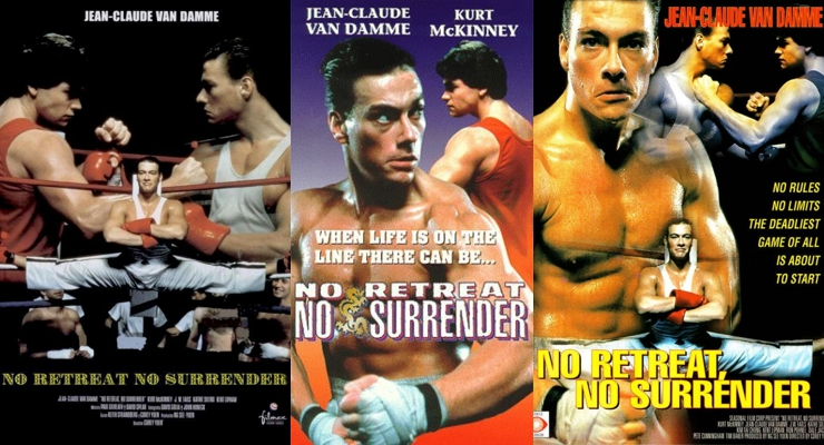 No Retreat, No Surrender (1986) Posters