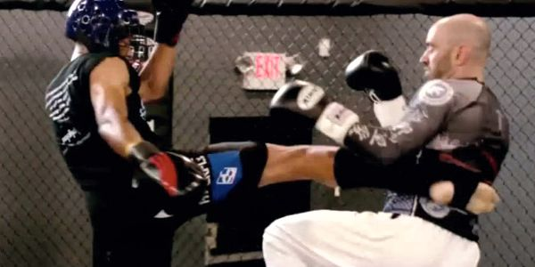 ESPN Anchor Stuart Scott Training MMA