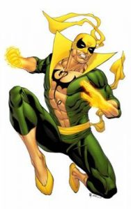 Iron Fist Comic Character