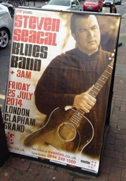 Steven Seagal UK Blues Tour