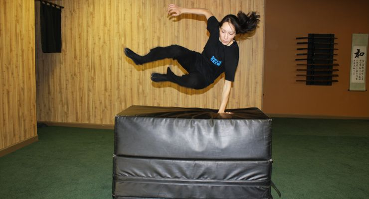 Martial Artist to Film Performer - Acrobatics