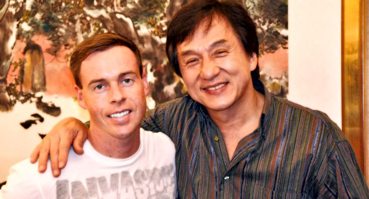 Brad Allan and Jackie Chan