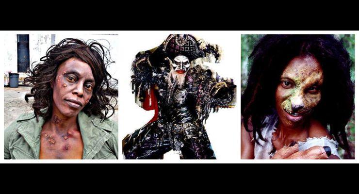 Cheryl Lewis Halloween Glamour Shots