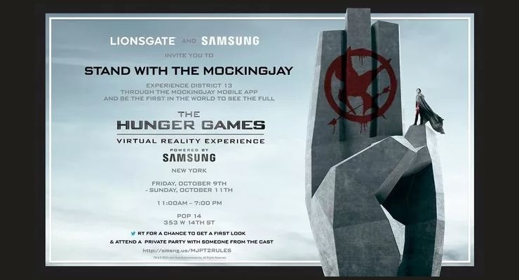 The Hunger Games Virtual Reality Experience