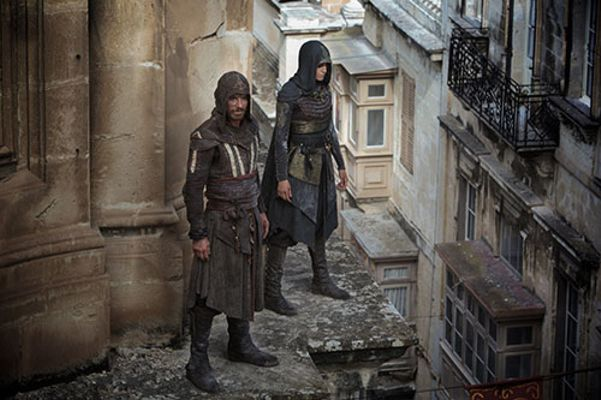 Michelle Lin in Assassins Creed Poster