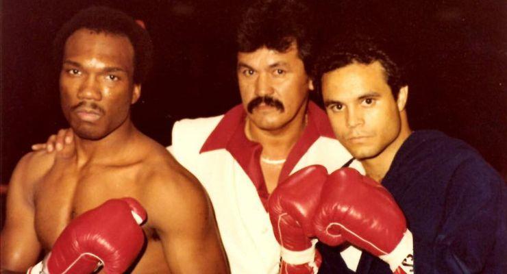 Daniel DeJarnea, Promoter Danny Rotarte and Danny Lopez