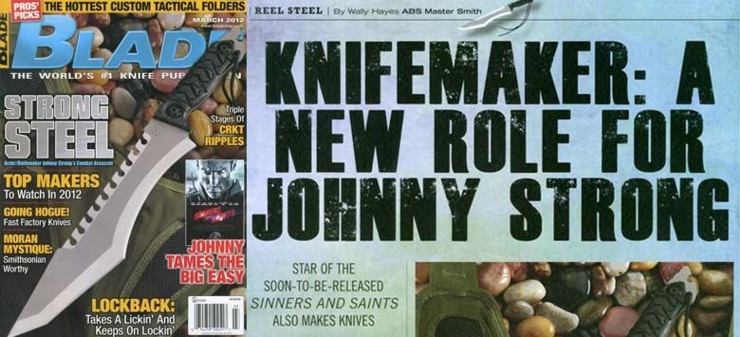 Johnny Strong Knives
