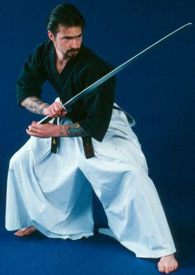 Mark Grove Sword Posture