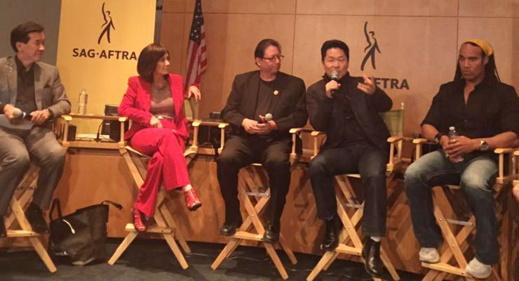 SAG-AFTRA Diversity In Action Panel