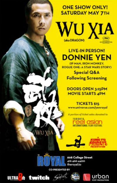 Donnie Yen Fan Event Poster