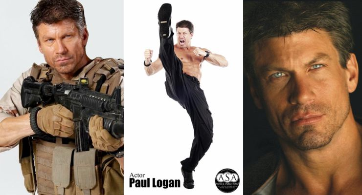 Martial Artist and Actor Paul Logan