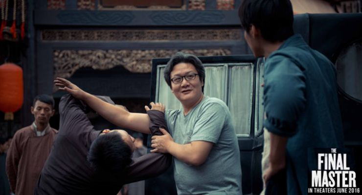 Director Haofeng Xu working with an Apprentice