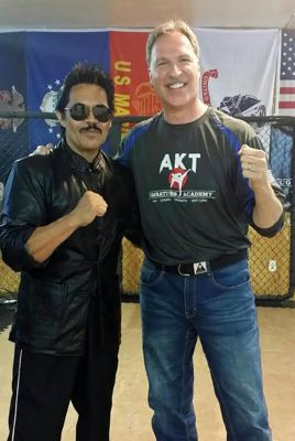 Art Camacho and Barry Broughton at Stunt Fighting For Film Seminar
