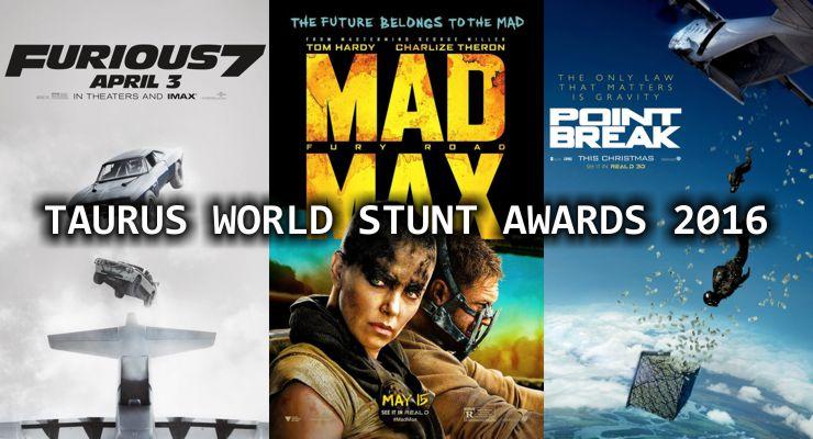 Taurus World Stunt Awards 2016