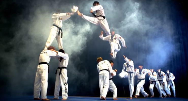 K Tigers Taekwondo Demo Team