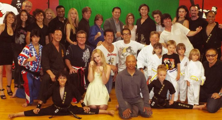 The Martial Arts Kid on DVD: Cast and Crew of The Martial Arts KId