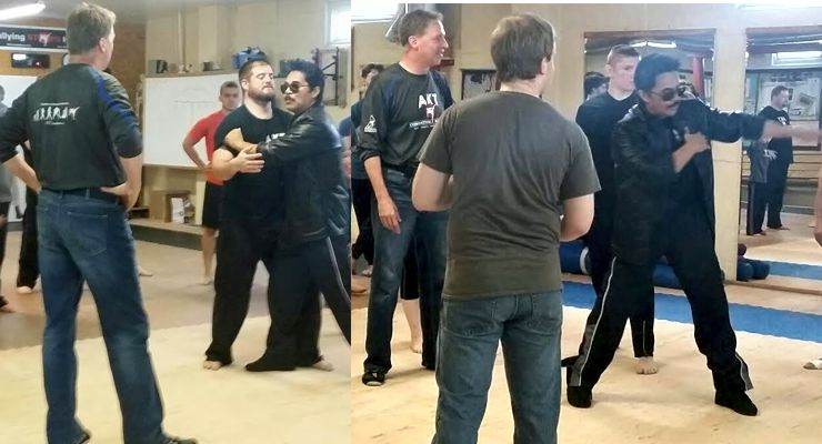 Art Camacho Stunt Seminar at AKT Combatives