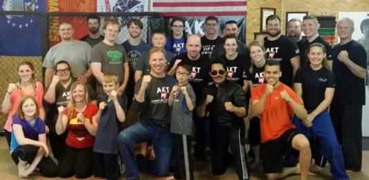 Art Camacho Stunt Seminar at AKT Combatives