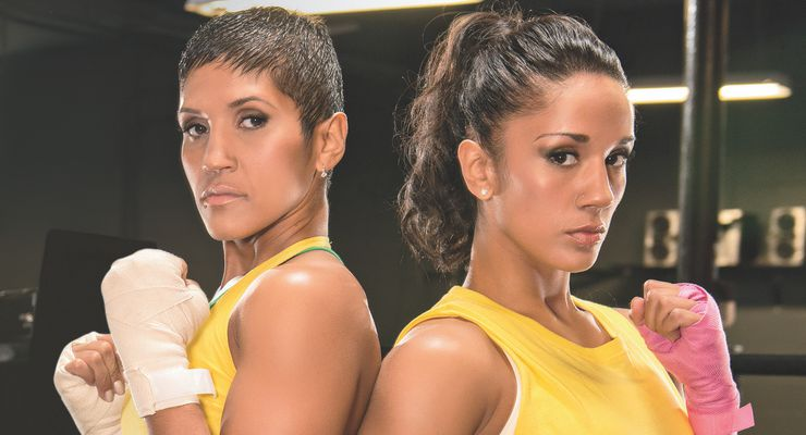 The Serrano Sisters: Amanda Serrano and Cindy Serrano
