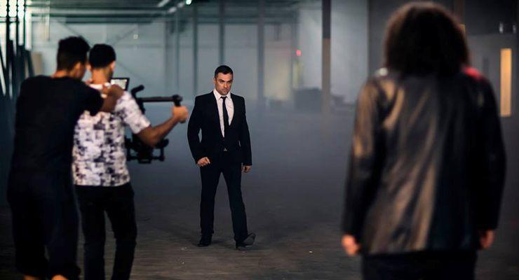 Toronto set of The French Dragon (2016)