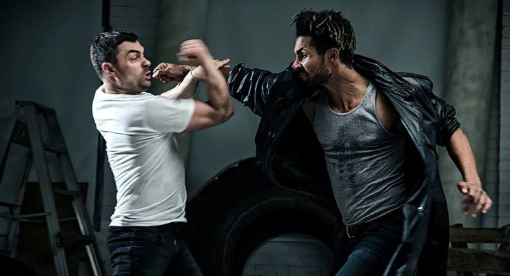 Fight Scene in The French Dragon (2016)
