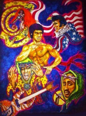 Bruce Lee by Deron Mcbee