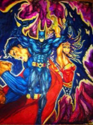 Super Heroes by Deron Mcbee