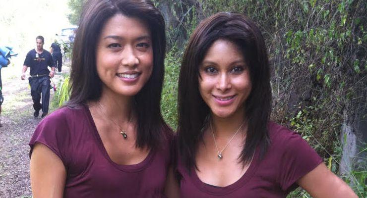 Lauren Mary Kim and Grace Park on Hawaii 5-0