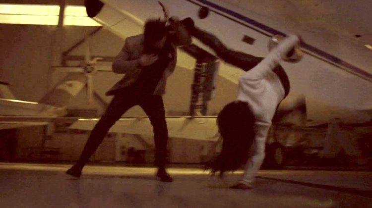 Lauren Mary Kim Stunt on Daredevil