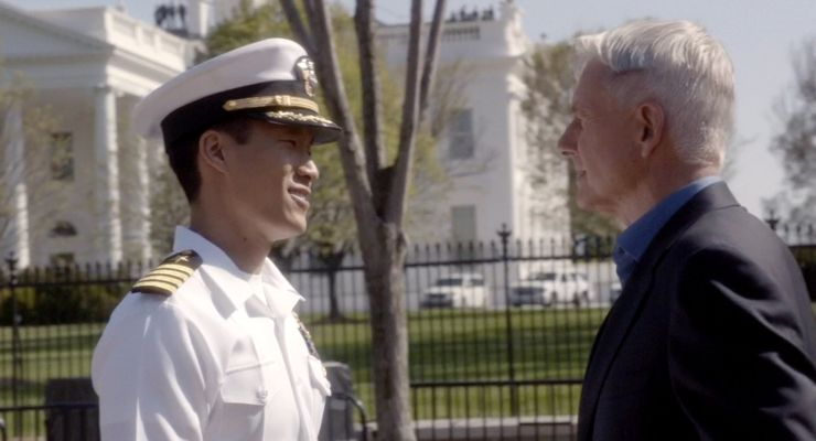 Stephen Oyoung in NCIS