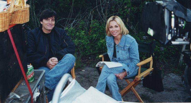 Jeff Pruitt directing Sophia Crawford