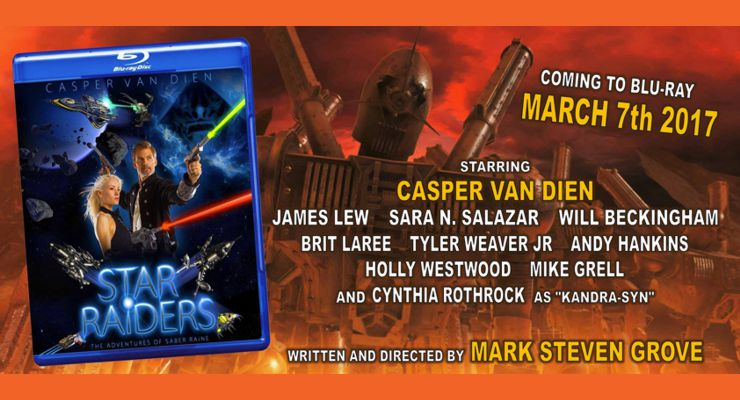 Star Raiders: The Adventures of Saber Raine on Blu-ray