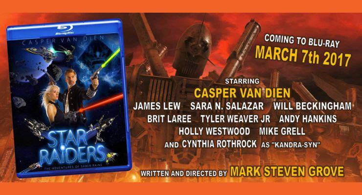 Star Raiders: The Adventures of Saber Raine on Blu-ray
