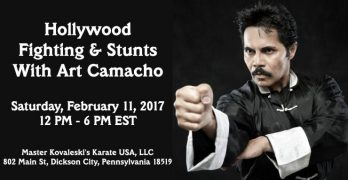 Hollywood Fighting & Stunts With Art Camacho