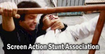 Michael DePasquale Jr Stunt Training Demonstration