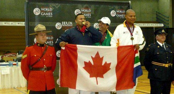 Sunny Singh winning the World Police Games in 2009