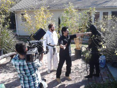 Art Camacho Filming
